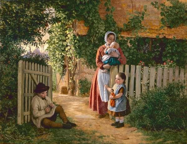 Music Hath Charms (oil on canvas)