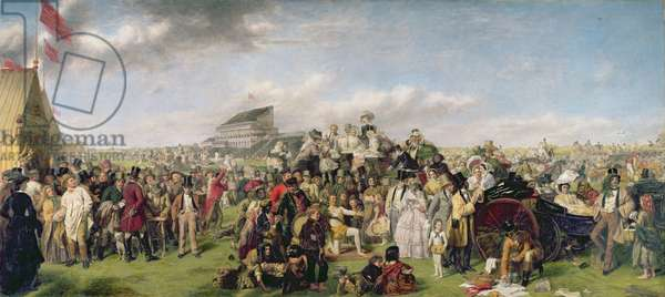 The Derby Day (1856), 1893-94 (oil on canvas)
