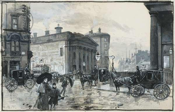The Gentlemen's Concert Hall, Peter Street, 1893-94 (w/c gouache on paper)