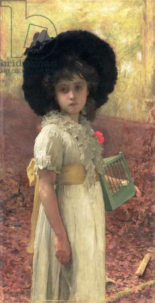 The Lost Bird, 1883 (oil on canvas)