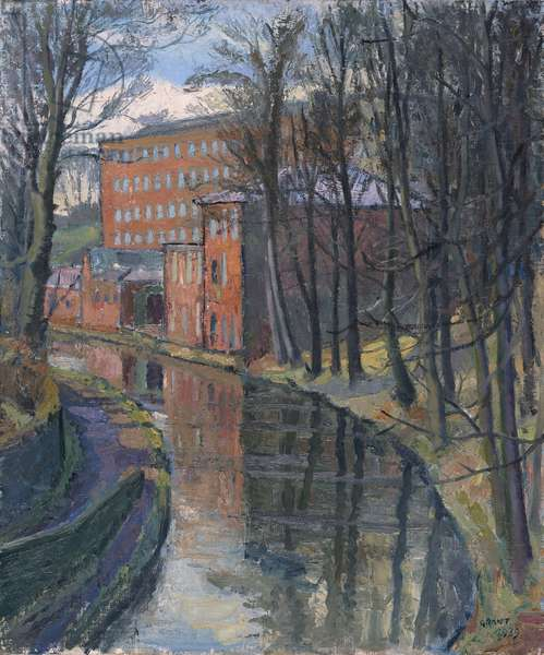Cheshire Mill, 1939 (oil on canvas)