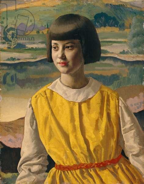 Clytie (oil on panel)