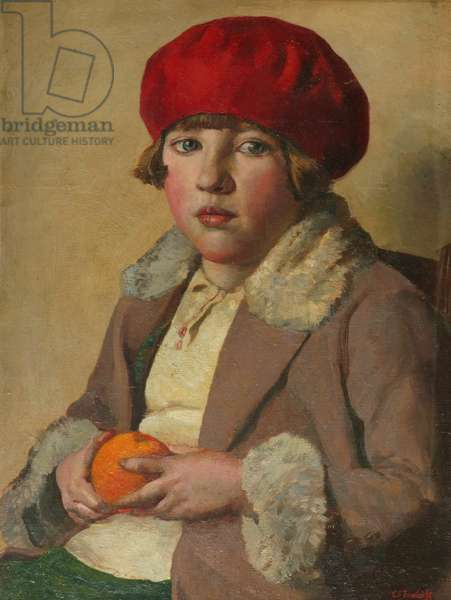 The Small Niece, 1929 (oil on canvas)