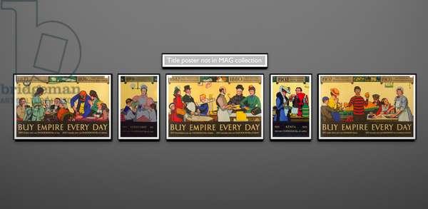 Milestones of Empire Trade, complete set