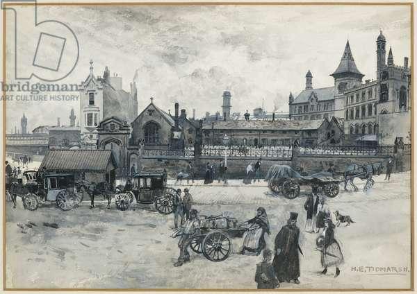 Chetham College and Grammar School, 1893-94 (w/c gouache on paper)