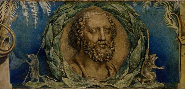Homer, c.1800-03 (tempera on canvas)