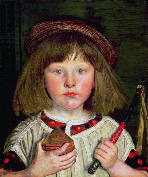 The English Boy, 1860 (oil on canvas)
