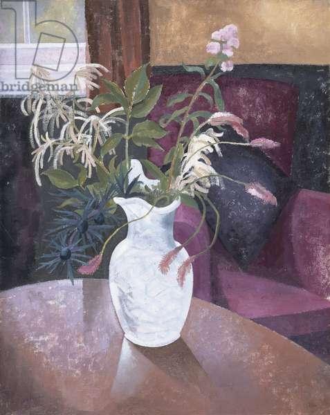 Jug of Flowers, 1930 (oil on canvas)