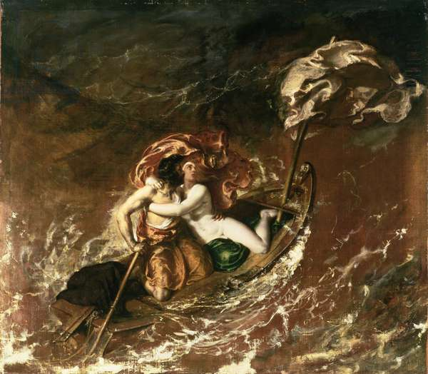 The Storm, 1829-30 (oil on canvas)