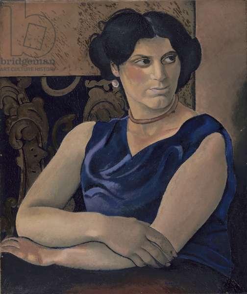 A Woman (Sarah) c.1927 (oil on canvas)