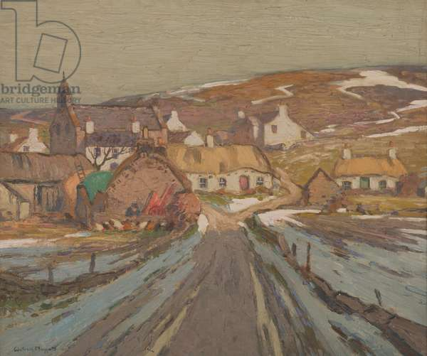 Cregneish, 1933 (oil on canvas)