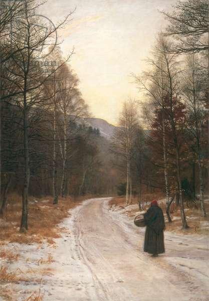 Glen Birnam, 1891 (oil on canvas)