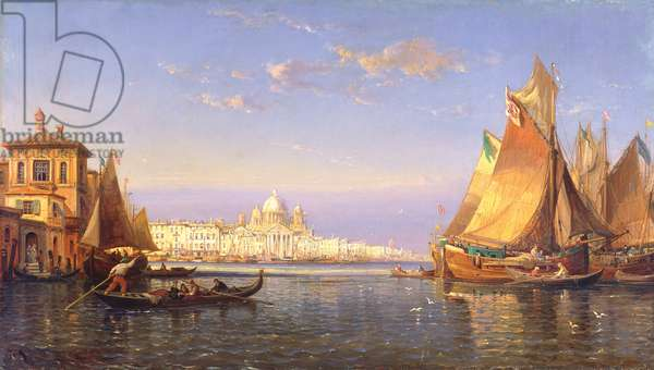 Venice, c.1850 (oil on canvas)
