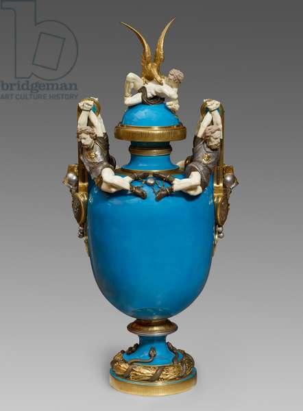 Prometheus Vase, 1875-78 (bone china)