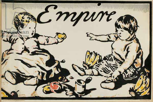 Food and Fruits of Empire (colour litho)