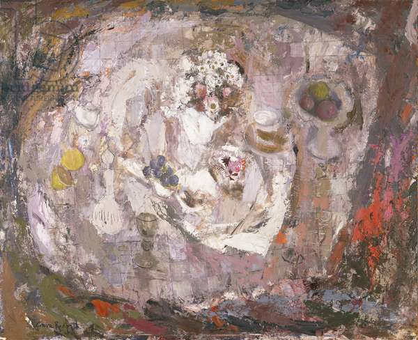 Table Top, c.1961 (oil on harboard)