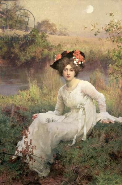 Reverie, 1899 (oil on canvas)