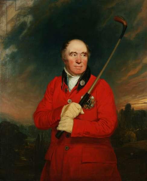 George Fraser (oil on canvas)