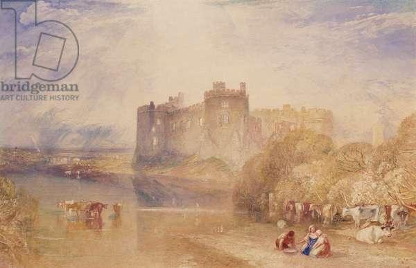 Carew Castle, Pembroke, c.1832 (w/c on paper)