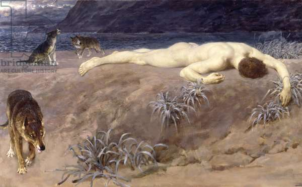 Dead Hector, 1892 (oil on canvas)