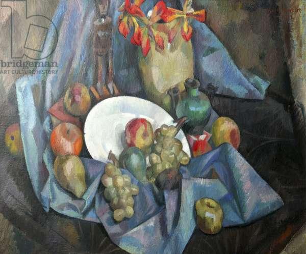 Still Life, 1917 (oil on canvas)