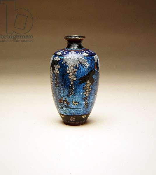 Vase, 1880-1900 (copper & enamel)