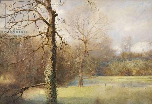 Springtime, 1890-1908 (oil on canvas)