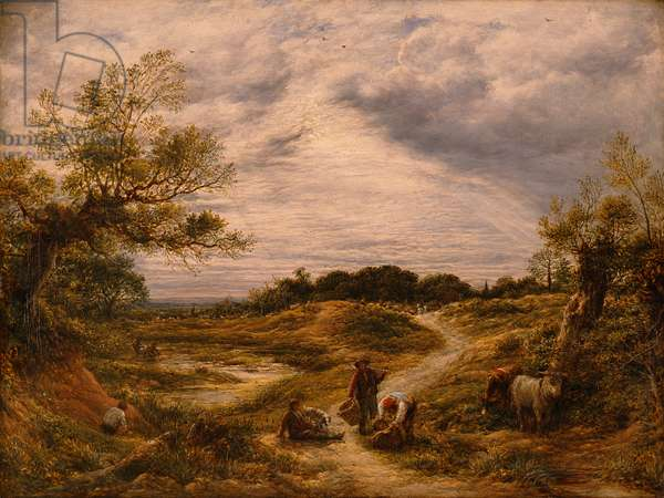Hampstead Heath, c.1855-56 (oil on canvas)