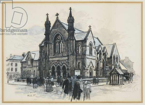 Moss Side Baptist Chapel, 1893-94 (w/c gouache on paper)