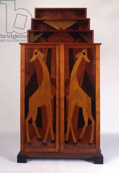 Giraffe Cabinet, 1915-16 (wood)