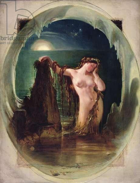 The Origin of the Harp, c.1842 (oil on canvas)