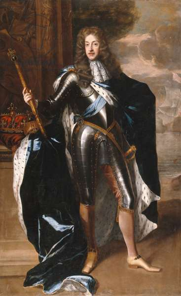 James II (oil on canvas)