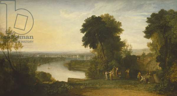 Thomson's Aeolian Harp, 1809 (oil on canvas)