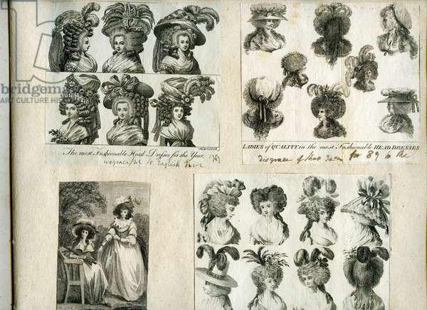 Fashion Plate Album, 1759-1825 (engraving)