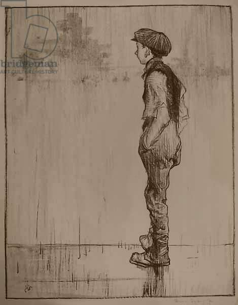 Making Sailors: Youthful Ambition, 1917 (litho)