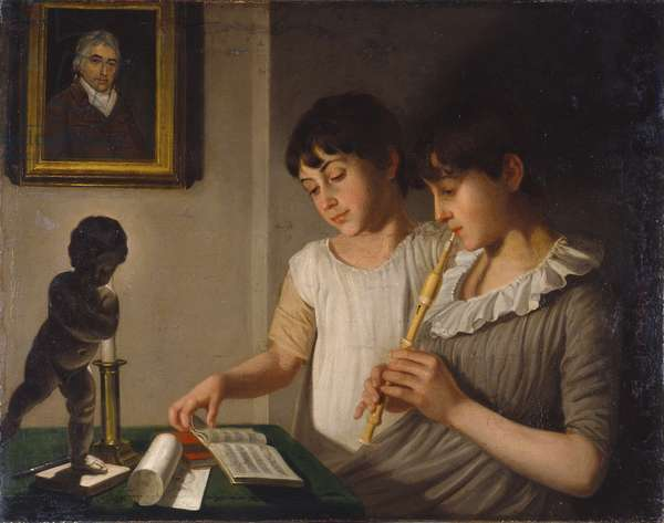 Music, 1801 (oil on canvas)