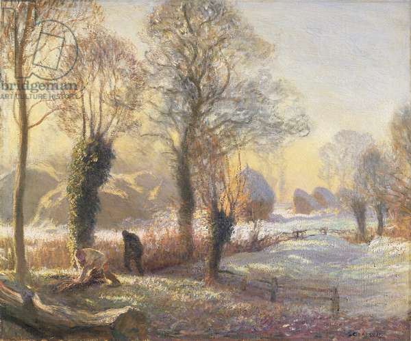 Winter Morning, 1906 (oil on canvas)