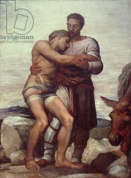 The Good Samaritan, 1852 (oil on canvas)