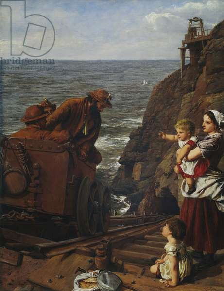From Under the Sea, 1864 (oil on canvas)