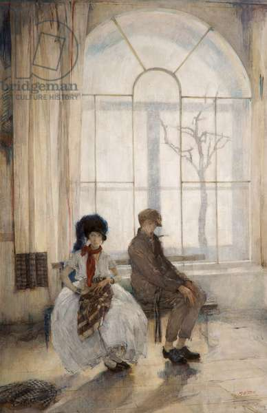 The Future, 1925 (oil on canvas)