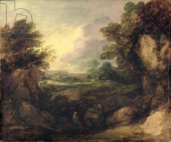Landscape with Figures, c.1786 (oil on canvas)