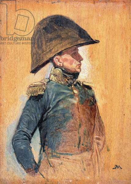 A General Officer (oil on panel)