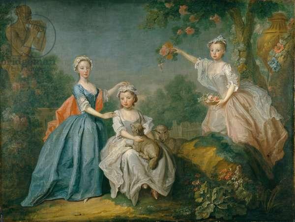 The Ladies Noel, c.1740 (oil on canvas)