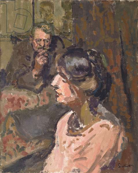 Hubby and Marie, c.1912 (oil on canvas)