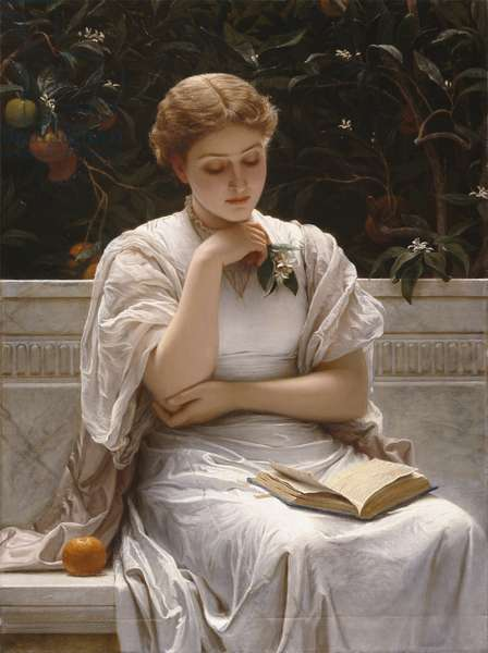 Girl Reading, 1878 (oil on canvas)