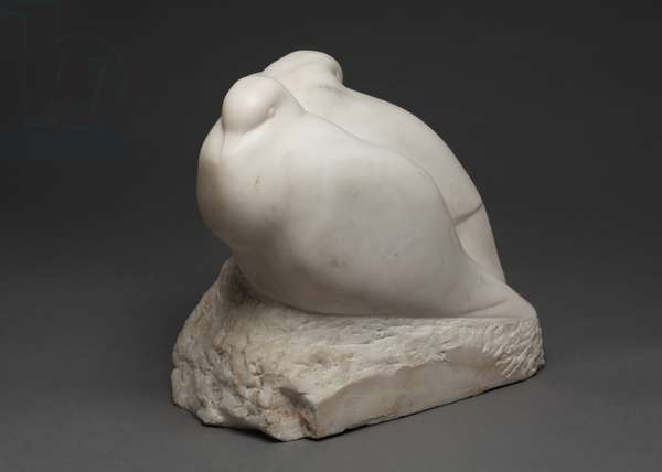Doves, 1927 (parian marble)