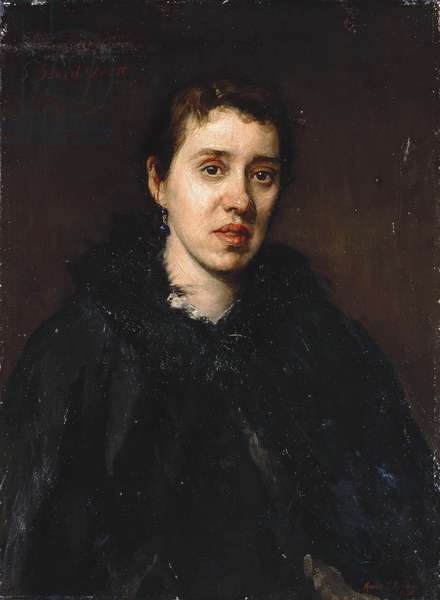 S. Isabel Dacre, 1880 (oil on canvas)