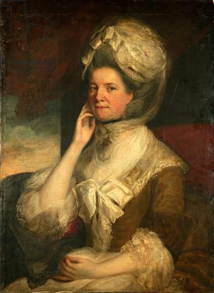 Lady Gordon (oil on canvas)