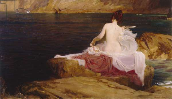 Calypso's Isle, 1897 (oil on canvas)