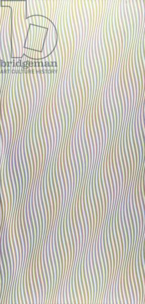 Zephyr, 1976 (acrylic on linen)